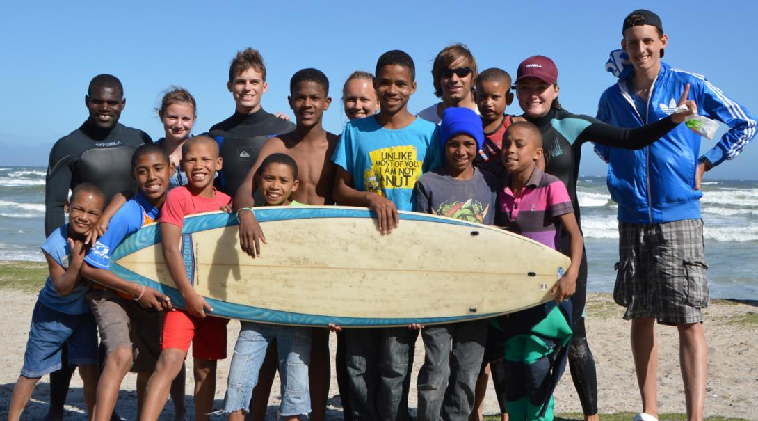 Coach children and young adults, and participate in surf therapy sessions for the disabled